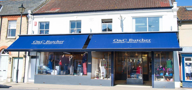 OC Butchers exterior view Aldeburgh
