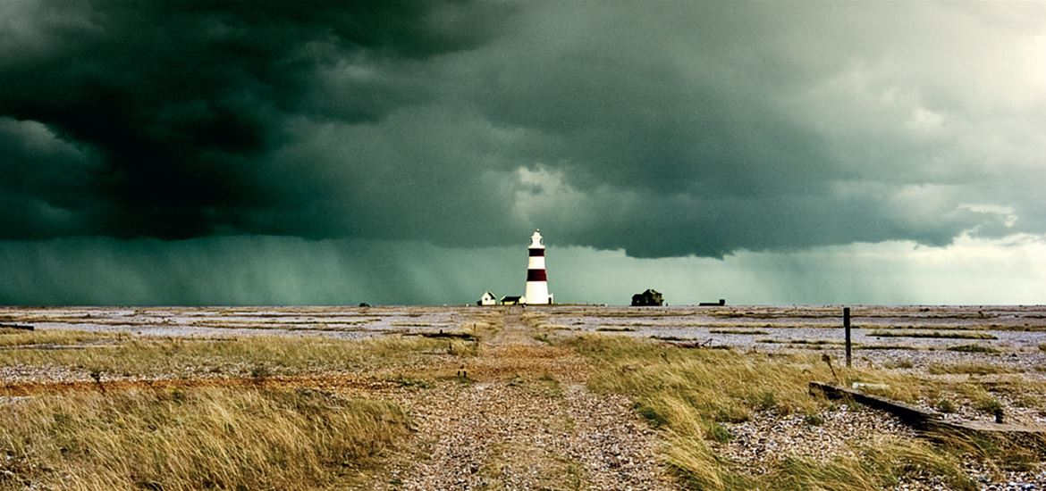 Orford Ness Lighthouse by Jim Skea