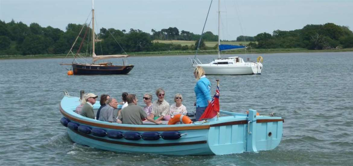 Deben Boat Trips - Oystercatcher - Attractions