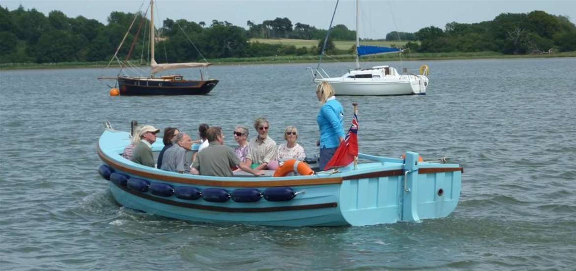 Explore The Suffolk Coast by Water  - Deben Boat Trips