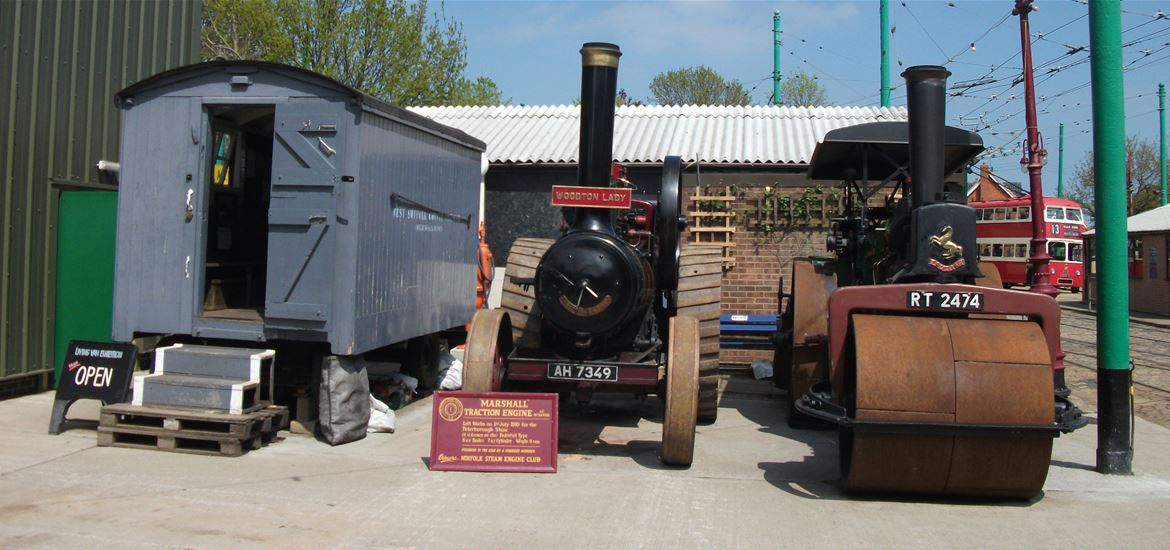 East Anglia Transport Museum - Attractions - Tar, Sweat and Steam
