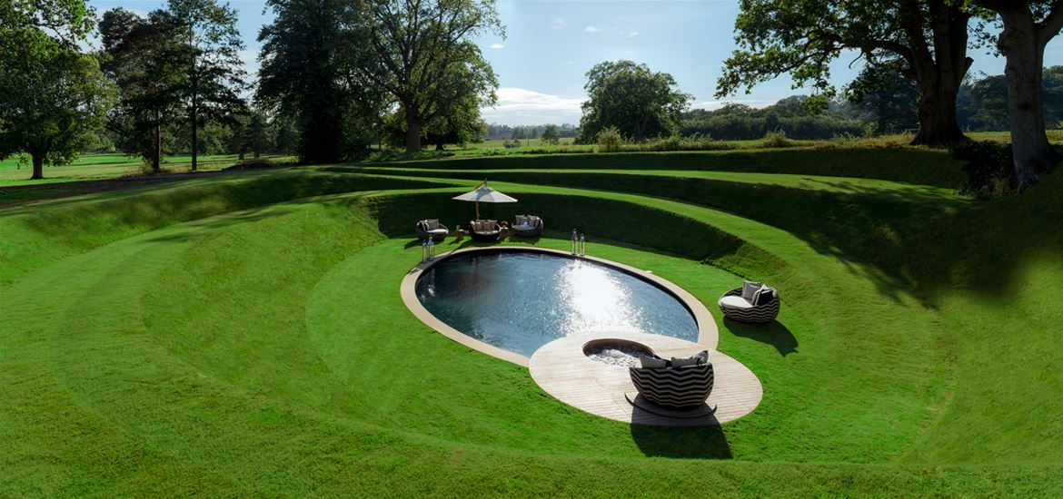 Sibton Park Wilderness Reserve Garden and Pool