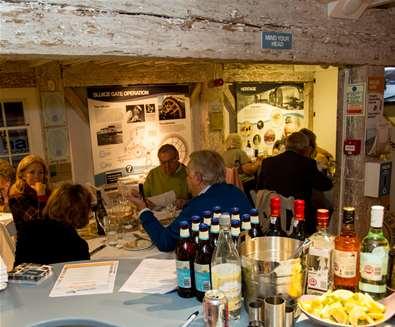Vernon Blackmore Cooks at Woodbridge Tide Mill