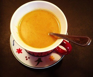 Blue Pumpkin Soup Recipe