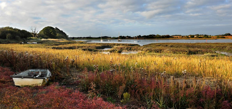 River Deben by Gill Moon