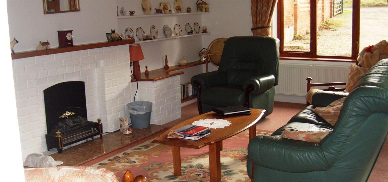 Rose Barn Farm Living Room