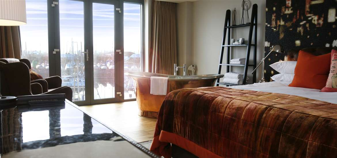 Where to Stay - Salthouse Harbour Hotel - Sail Loft