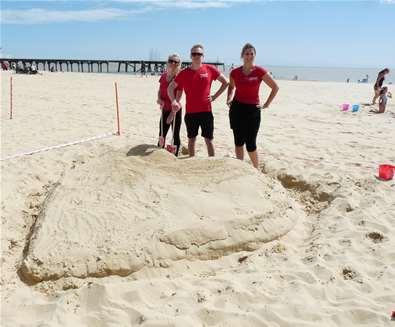 Lowestoft Summer Festival - Sandcastle Competition