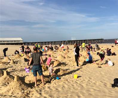 Lowestoft Summer Festival - Sandcastle Record Attempt