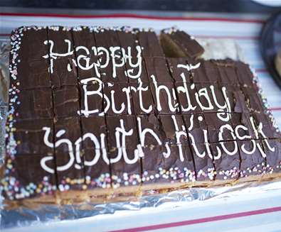 South Kiosk Birthday Cake