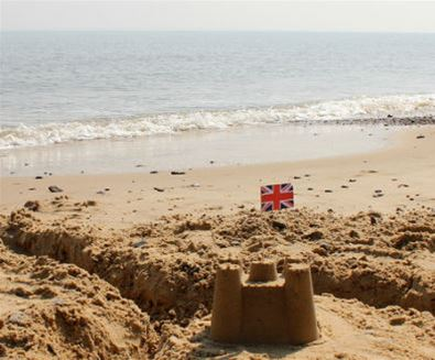 Southwold Pier Sandcastle Competition