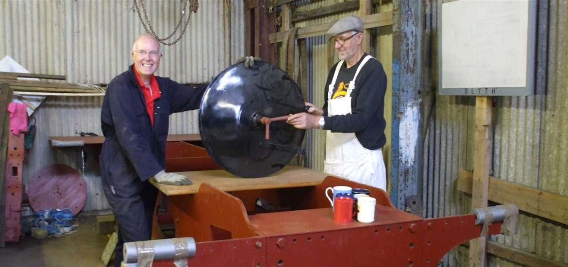 Southwold Railway Trust Volunteers at work