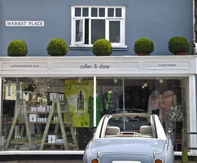Attractions - Collen & Clare - Southwold - Store Front