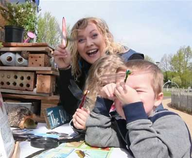 RSPB- 'Giving nature a home' & FREE children's activity!