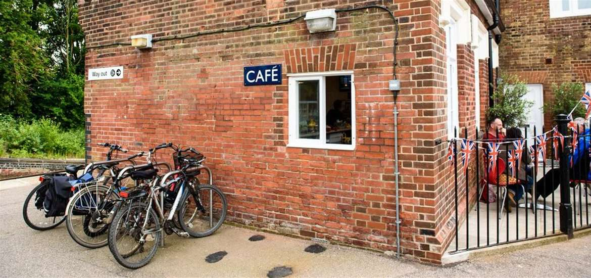 Visitor Information Point - Station Cafe