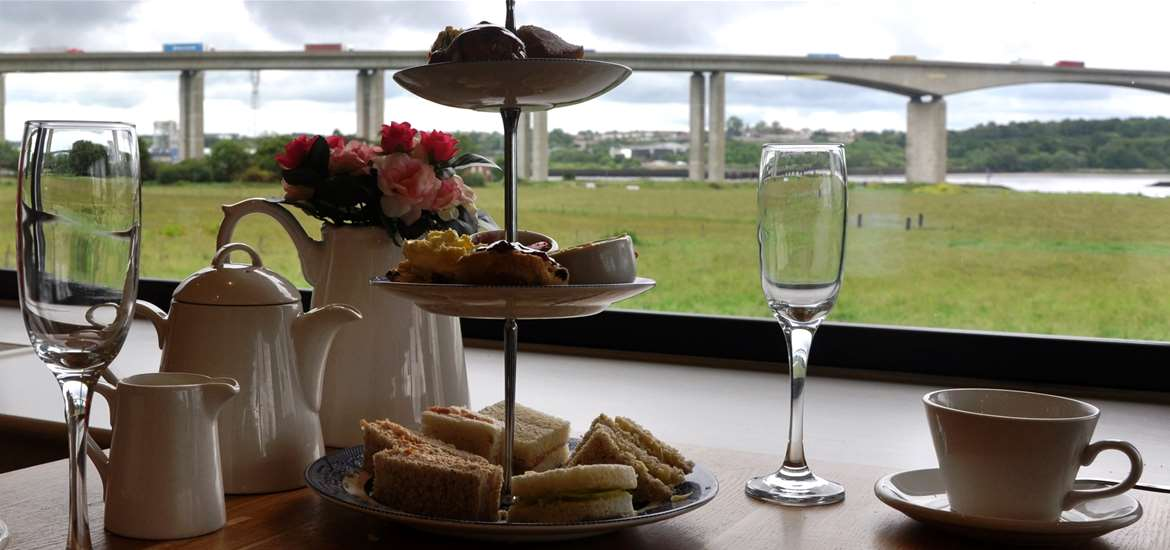 The Cookhouse Restaurant - Suffolk Food Hall - Wherstead - Afternoon Tea