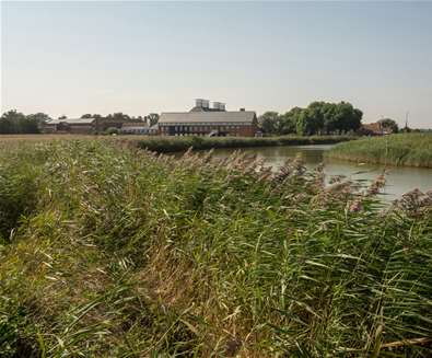 TTDA Snape Maltings Concert Hall in the Summer