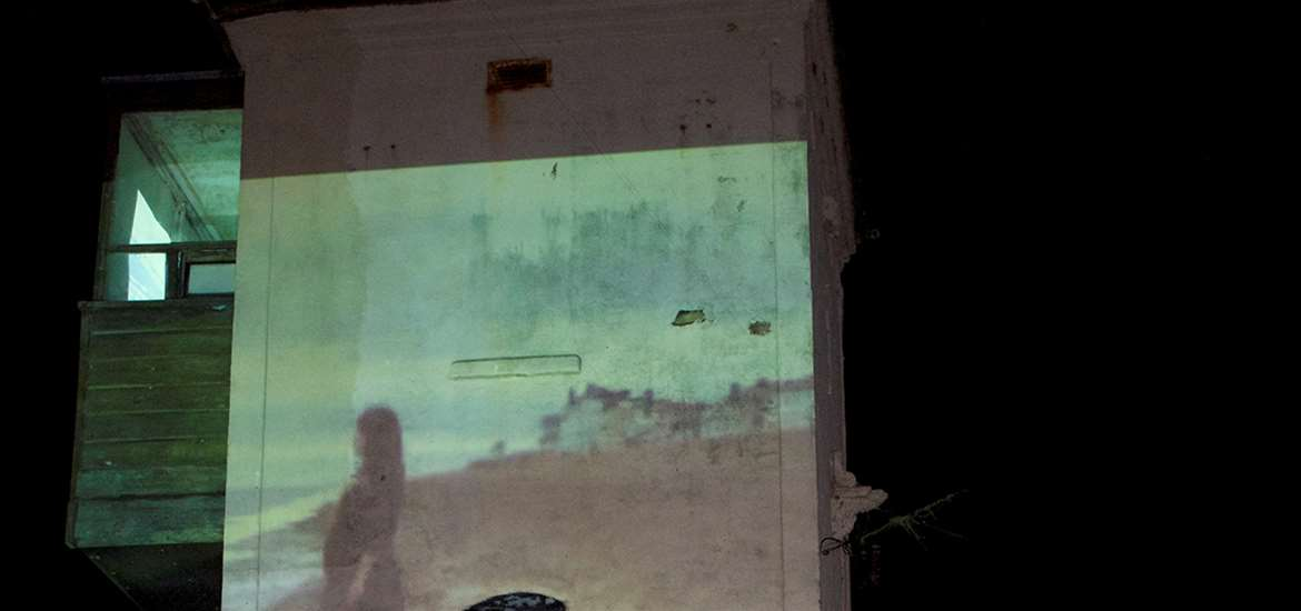 TTDA - Aldeburgh Beach Lookout - Projection on Wall
