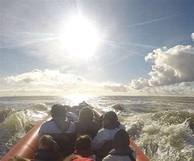 TTDA - Coastal Voyager - People in Boat