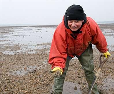 TTDA - Suffolk Coast & Heaths AONB - Bait Digging