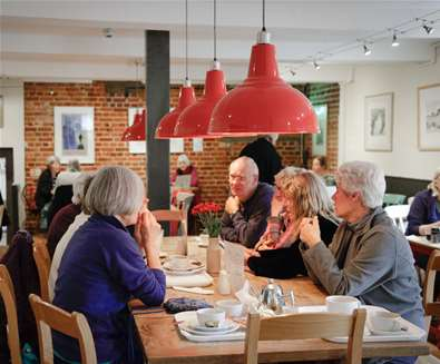 TTDA - Snape Maltings - Cafe 1885