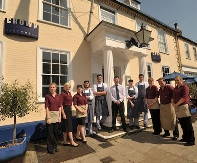 The Crown Wins Best Dining Pub In Suffolk