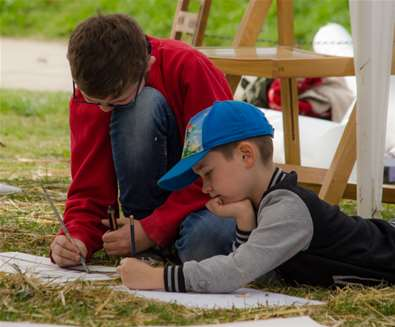 The Big Draw - Framlingham