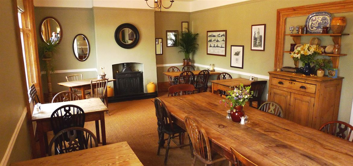 The Ship Dunwich Dining Room