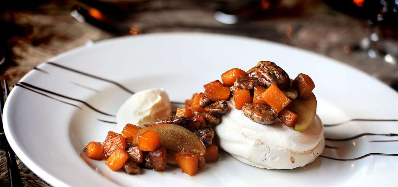 Seasonal puddings at the Westleton Crown