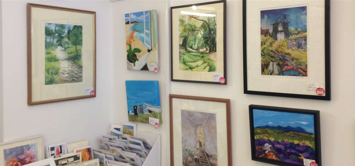 Things to do attractions - Inspirations - Wickham Market - Local artists work for sale