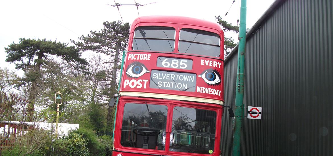 East Anglia Transport Museum - Attractions - Trolley Bus