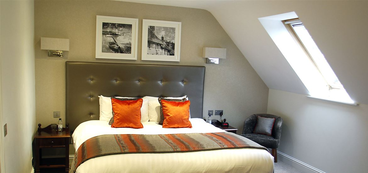 Ufford Park Bedroom