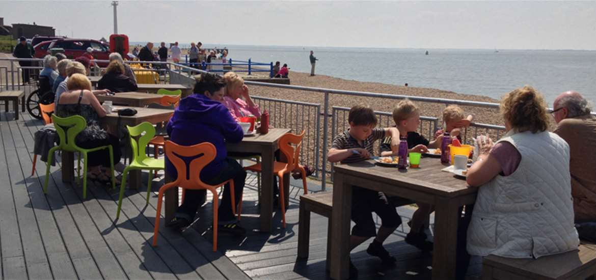 View Point Cafe-Felixstowe-Food and Drink-perfect fish and ships