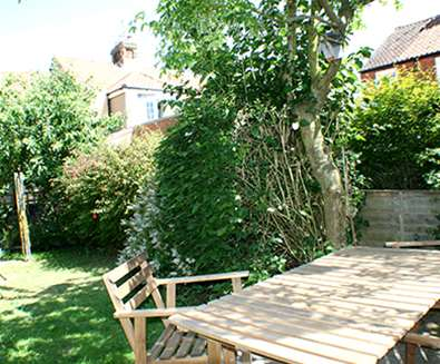 WTS - Durrants Holiday Cottages - Coastguards Garden