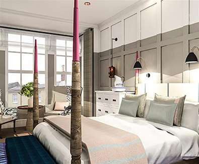 WTS - The Swan Hotel - Bedroom