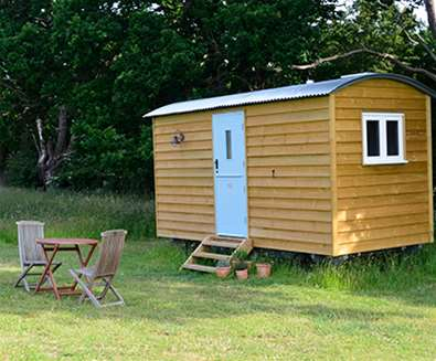 WTS - Wardley Hill Campsite - Shepherds Hut