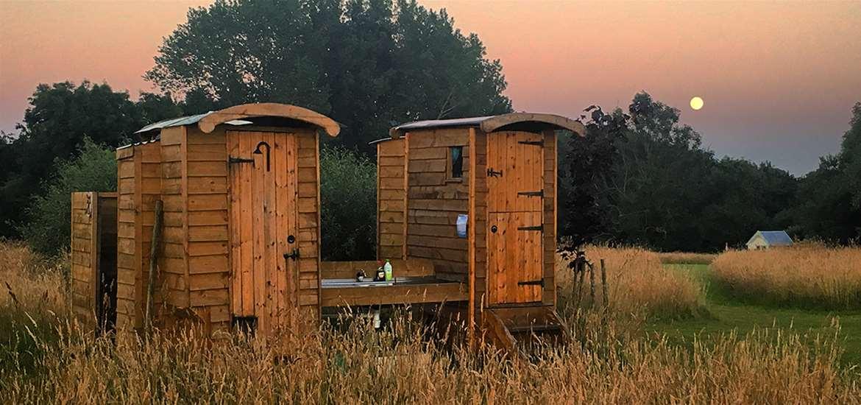 WTS - Wardley Hill Campsite - Shepherds Huts