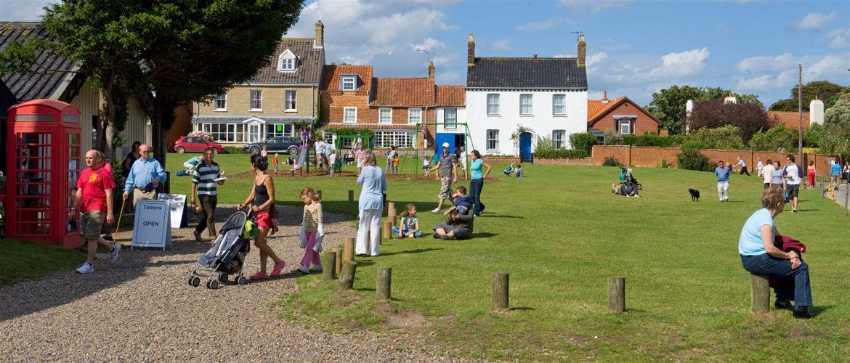 Walkberswick - Towns & Villages - Walberswick Green - (c) Suffolk Coast and Heaths AONB