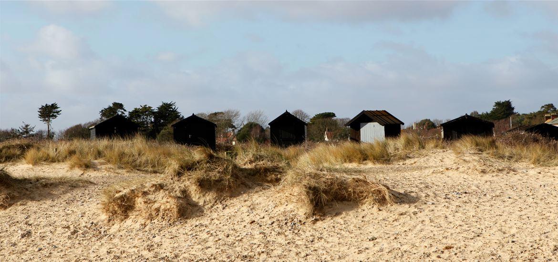 Walberswick Beach by Habie Schwarz