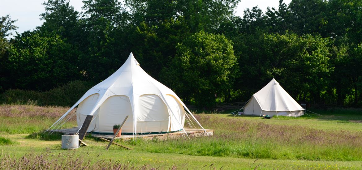 Wardley Hill Campsite - Glamping in Belle Tents