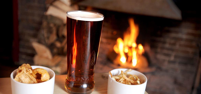 The Westleton Crown Beer and Nuts