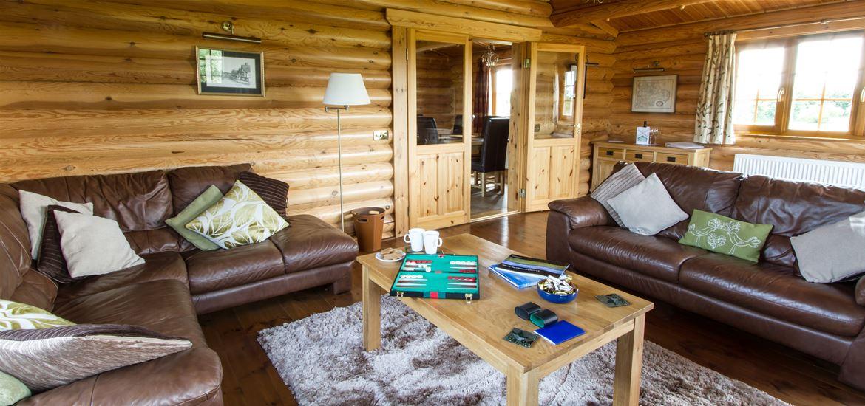 Windmill Lodges Kingfisher Sitting Room