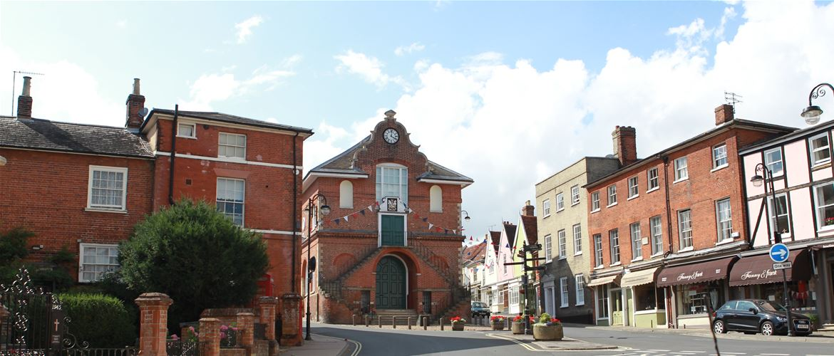 Woodbridge - Towns & Villages - Market Hill - Shire Hall