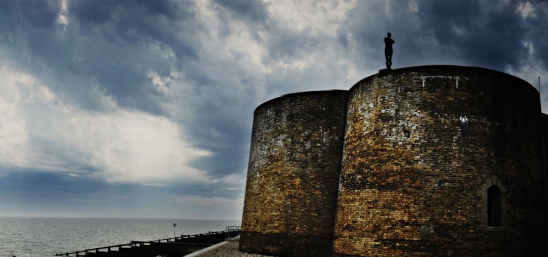 Gormley's Man -Aldeburgh-Photographer Adrian Green
