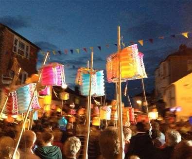 Aldeburgh Carnival Procession - The Suffolk Coast