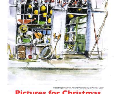 Pictures for Christmas Exhibition at Artspace Woodbridge