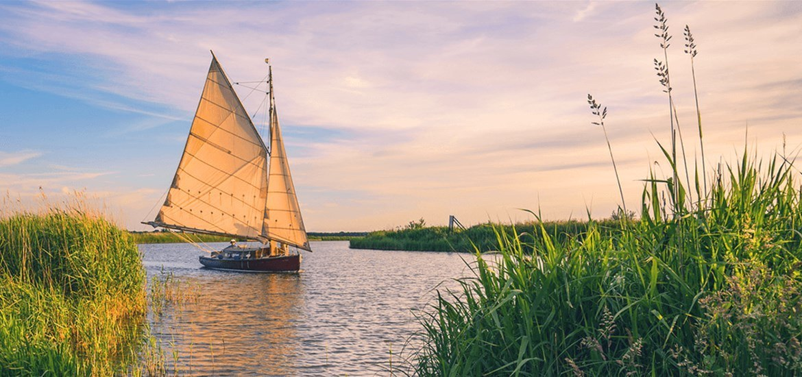 Sailing on the Suffolk Coast