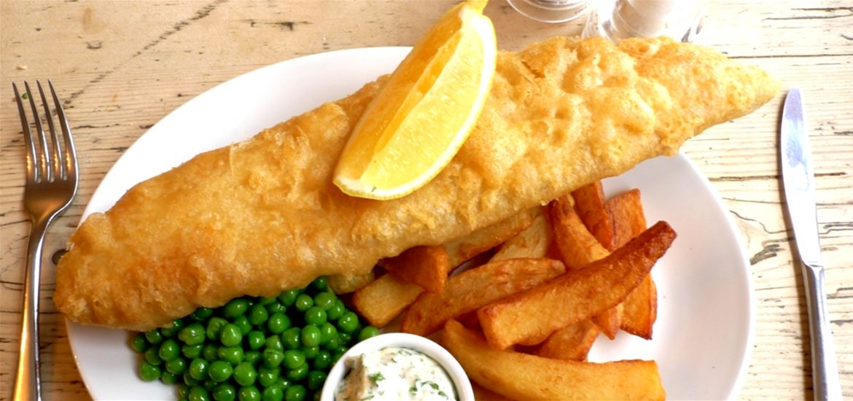 The Ship at Dunwich - Fish and Chips