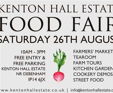 Kenton Hall Estate Food..