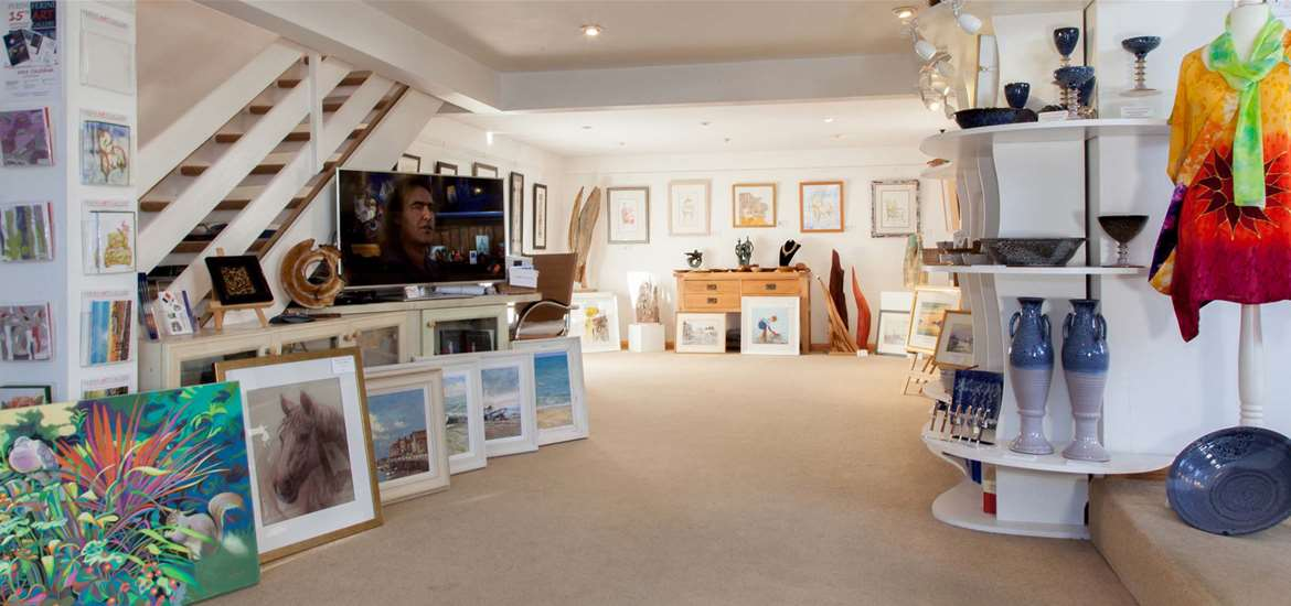 Things to Do - Attractions - Ferini Art Gallery - Lowestoft - Lower Gallery